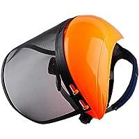 Poweka Casque de Sécurité avec Visière Grillagée de Forestier Chapeau  Masque de Protection pour Stihl Tronçonneuse 9ceb8c95eeb1