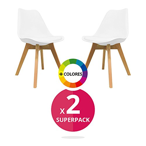 ArtDesign FR Set of 4 Dining Chairs(Tulip-3 Colors)