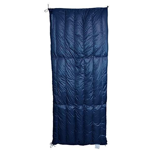 Outdoor Vitals Aerie Daunendecke/Schlafsack, Blau (15°F), LoftTek Insulation