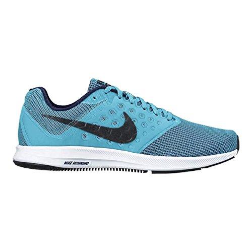 nike uomini downshifter 7 cloro blu scarpe da corsa (852459 401) 17