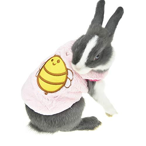 (FLAdorepet Winter-Kostüm für Kaninchen, Chinchilla, Frettchen, für Teetasse, Mini-Hunde)
