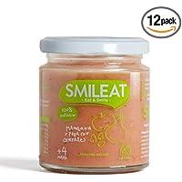 Smileat Potito de Manzana y Pera con Cereales - 230 gr - [Pack de 12