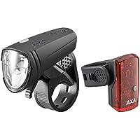 Axa GreenLine 15 Beleuchtungsset 2017 Fahrradbeleuchtung Sets