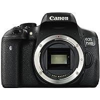 Canon EOS 750D Body Spiegelreflexkamera schwarz