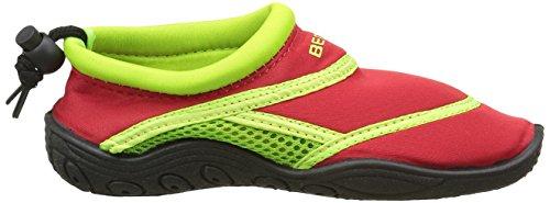 BECO chaussons aquatiques Multicolore (Rouge/Vert)