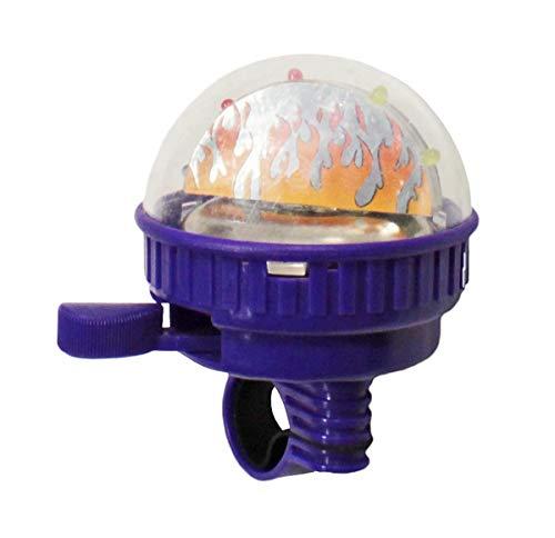 Preisvergleich Produktbild Maui Toys Kinder Fahrradklingel mit Leuchteffekt 5 LEDs Fahrrad Schelle Glocke,  Farbe:Schwarz,  Herstellernummer:BLO110025117_schwarz