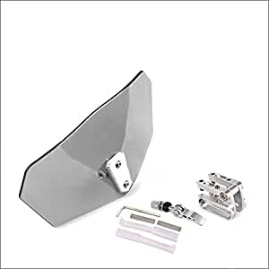 Spoiler d'extension de pare-brise de déflecteur de vent de moto avec l'agrafe réglable