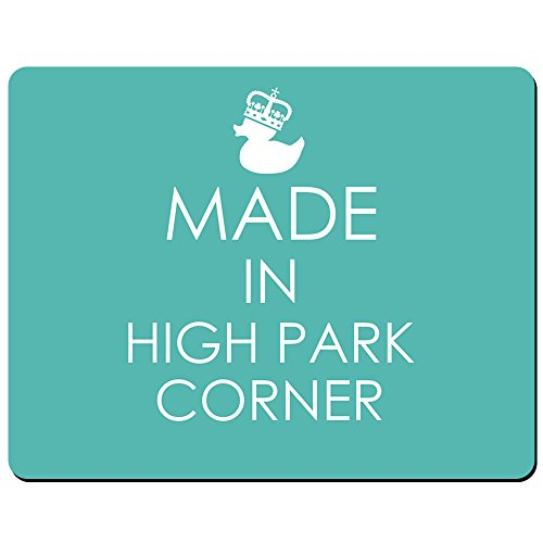 Made in High Park Ecke - PREMIUM Mauspad (5 Dick) -