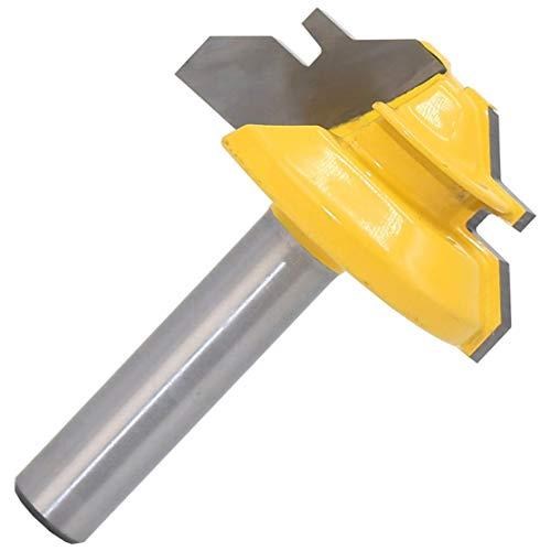 Shaker-stil Holz (45 grad zapfenmesser 8 zoll 8x1-3/8 stile finger joint kleber fräser kegel zapfen holz schranktür cutter handwerkzeug)
