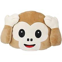 Cojines de peluche TOYMYTOY Emoticono Almohada juguetes de peluche mono (Sin Escuchar)