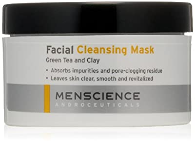 MenScience Facial Cleaning Mask - Green Tea And Clay by Menscience