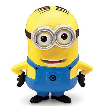 Despicable Me 2 Collectible Action Figure - Minion Dave by Thinkway TOY (English Manual)