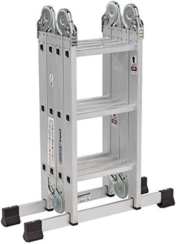 DRAPER 17110Mehrzweck-Leiter aus Aluminium, silber