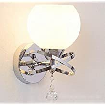 Simple, moderno, europeo, dormitorio, lámpara de pared, grandes luces del salón, hotel, mesita de noche, lámpara de pared, ingeniería