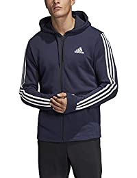 1d1daa4d0b68 adidas Men s Must Haves 3-stripes French Terry Full Zip Hooded Tracksuit  Jacket