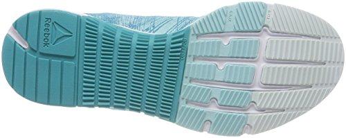 Reebok Cn0994, Scarpe da Fitness Donna Blu (Blue Lagoon/solid Teal/opal/white/silver)