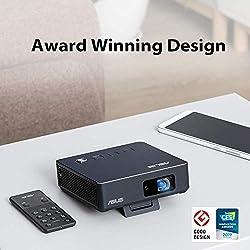 ASUS S2 - Pico Projecteur Mini LED Portable HD Bleu marine - 500 lumens - HDMI & USB-C - Batterie intégrée 6000 mAh autonomie 3,5 heures - 1280 x 720 - 32 db - Haut-parleurs intégrés -Garantie 2 ans