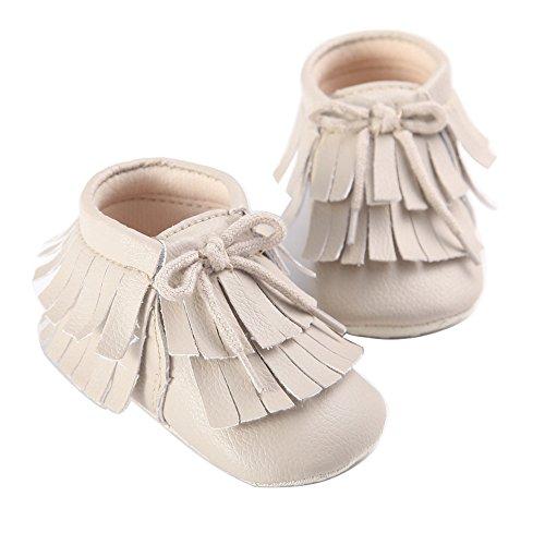 Fire frog  Moccasins Boots,  Baby Mädchen Mokassins Beige