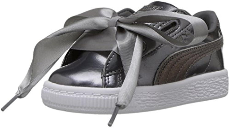 Puma Unisex-Kids Basket Heart Lunar Lux scarpe da ginnastica, Smoked Smoked Smoked Pearl, 6 M US Big Kid | Pregevole fattura  | Uomini/Donna Scarpa  99e0da