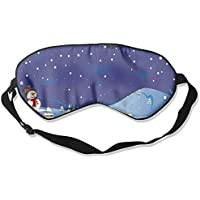 Eye Mask Eyeshade Cartoon Christmas Sleeping Mask Blindfold Eyepatch Adjustable Head Strap preisvergleich bei billige-tabletten.eu