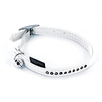 ART LEATHER PLUS COLLIER CHAT BLANC