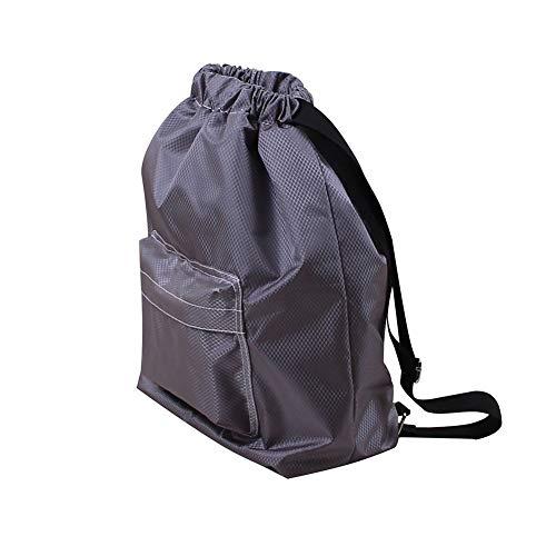 SDGDFXCHN Outdoor Dry Wet Separation Bag Kordelzug Wasserdichte Sportrucksack Schwimmen Tasche Große
