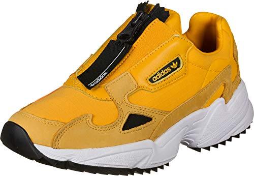adidas Originals Falcon Zip Damen Sneaker, Größe Adidas Damen:41 1/3 - Original Zip
