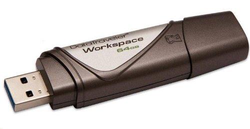 Kingston DTWS/64GB DataTraveler Workspace USB Drive, 64GB, Bronze on Line