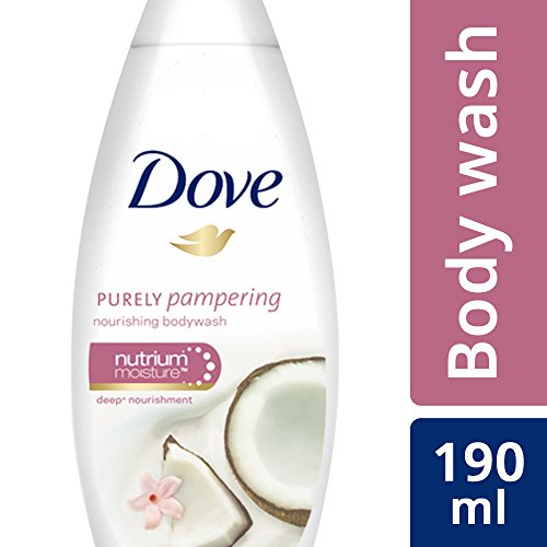 Dove Coconut Milk and Jas Petals Body Wash, 190ml