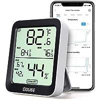 Govee Termómetro Higrómetro, Mini LCD Bluetooth Medidor Digital Humedad y Temperatura Interior con Función Almacenamiento Datos y Alerta, para Habitación
