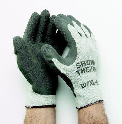 """Showa 451 - Guanto di maglia """"Thermo Grip"""", colore: Grigio"""