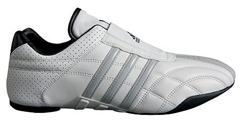 adidas - Chaussures taekwondo Adiluxe cuir bandes grises (38 2/3) 5 1/2