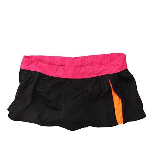 Nike Colorblock Skirtini Bottoms for Women (14, Black/Pink) -
