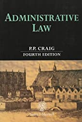 Administrative Law by P.P. Craig (1999-09-30)