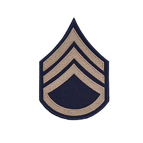 Epic Militaria Réplique US Américain Sergent D'État-Major Kaki Rang Insignes