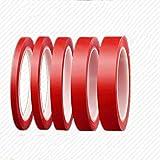 XuBa 3 m wasserdichtes Klebeband Acryl Transparent No Spces Aufkleber für Auto Feste Handy Tablet LCD Bildschirm 15mm*3 meters