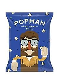 Popman Indian Masala Popcorn Pack of 20 [20 GMS Each]