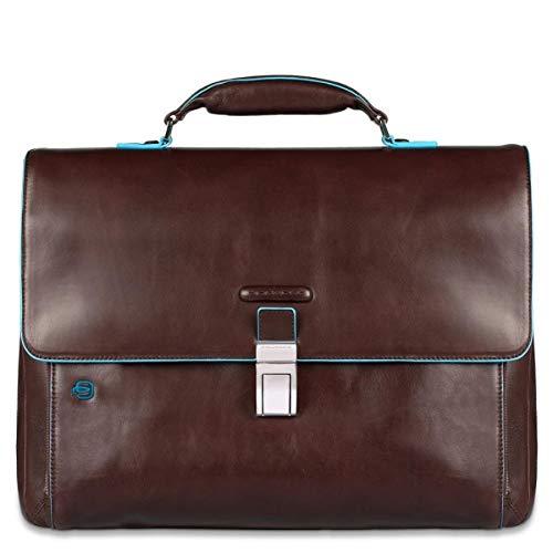 Piquadro Blue Square Erweiterbare Laptoptasche mit iPad®-/iPad®Air-Fach - CA3111B2 (Braun) -