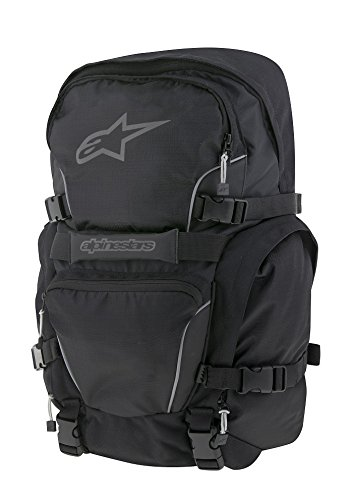 Imagen de alpinestar   impermeable, color negro y rojo alternativa