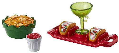 Barbie FHY66 Kleines Accessoire Set Taco-Party