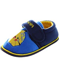 Pokemon Boy's Beal Canvas Slippers