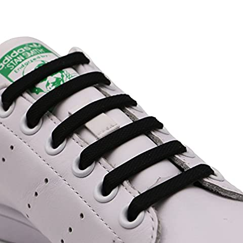 INMAKER Schnürsenkel ohne Binden für Fußballschuhe, Basketballschuhe und Sneaker; Im Freien Sport elastischer Silikon Schnürsenkel für Erwachsene und Jugend