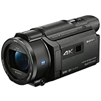 Sony FDR-AXP55 4K Handycam with Built-in Projector, Black (4548736021396)
