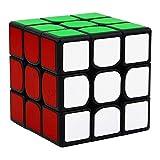 HJXDtech Magic Cube Profesional 3x3x3 Speed Cubo con Bordes de Color...