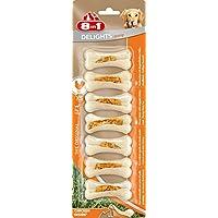 8in1 Delights Chicken Kauknochen, Größe XS, für extra stark, kräftig kauende, 7 Stück (140 g)