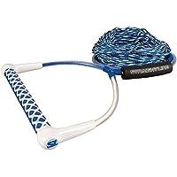 65'Eva Wake Combo Straight Line Rope + Handle Blue