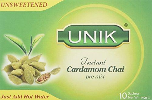 Unik Cardamom Tea Unsweetened 140 g (Pack of 5)
