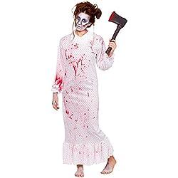 Disfraz Zombie Nightmare adulto señoras de Halloween Talla M (42-44)