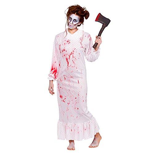 Ladies Zombie Nightmare Fancy Dress Halloween Costume