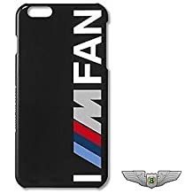 BMW nuevo genuino M Motorsport I///M ventilador Apple iPhone 6Funda 80282406091